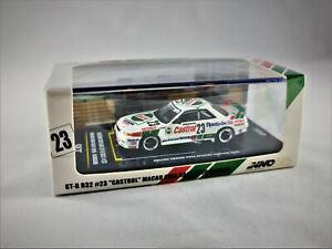 Nissan Skyline GT-R R32 1990 #23 *Castrol* Macau Guia Race | INNOMODELS | 1:64