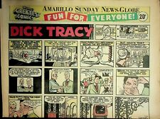 Amarillo Sunday News Globe Comics May 12 1968 Peanuts Dick Tracy 021220AME