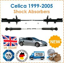 For Toyota Celica 1999-2005 2 Front & 2 Rear Shock Absorbers Shockers Set  New