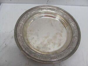 Wedgwood by International Sterling Silver Dessert Plate
