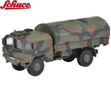 Schuco H0 452625900 MAN 5t GL AUTOCARRO mimetico BUNDESWEHR 1:87 NUOVO +