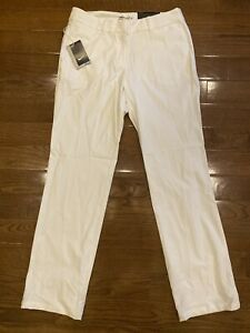 Womens Size 10 Nike Golf Pants White 725732-100