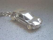 Schlüsselanhänger Smart Roadster Coupe versilbert (5239)