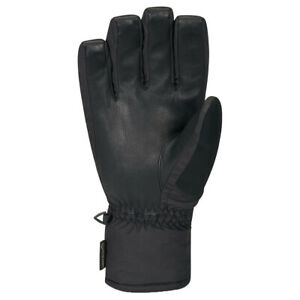 Dakine NEW Men's Leather Titan Gore-Tex Short Gloves - Black BNWT