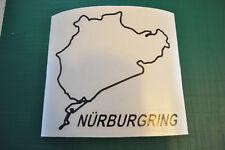 STICKER Nurburgring GP Circuit Piste De Course, nordschleife gpf1 11,5x12cm