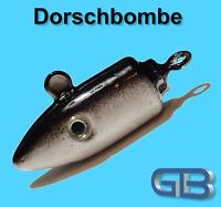 Meeresjig Dorschbombe 25g, 40g, 50g, 75g Jig Bleikopf Kopf Flexi Kopf.