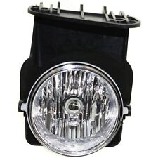 Clear Lens Fog Light For 2003-04 GMC Sierra 1500 RH CAPA Plastic Lens w/ Bulb