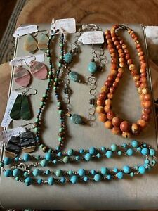 Sterling Silver Jewelry mixed lot 240g
