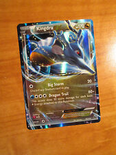 PL Pokemon KINGDRA EX Card FATES COLLIDE Set 73/124 XY X and Y Ultra Rare 170 HP