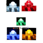 5mm F5 Piranha LED Red Green Yellow Blue White Round Head Super Bright Light