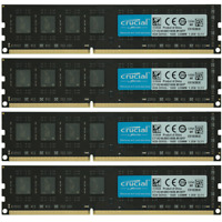 Crucial 32GB 4x8GB PC3-12800U DDR3-1600MHz Dell OptiPlex 9010 MT/DT/SFF Memory