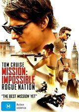 MISSION IMPOSSIBLE ROGUE NATION New Dvd TOM CRUISE ***