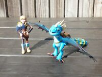 How To Train Your Dragon Stormfly Spike Attack Astrid Deadly Nadder Figure Toy