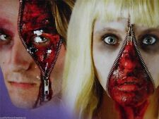 ZIPPER FACE FX HALLOWEEN HORROR MAKEUP KIT SCARY ZIP SPECIAL FX EFFECTS BLOOD