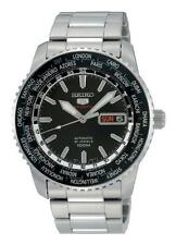 Sportliche runde Seiko Armbanduhren aus Edelstahl