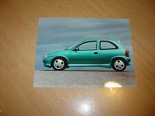 PHOTO DE PRESSE ( PRESS PHOTO ) Opel Corsa Eco 3 de 1995 OP034