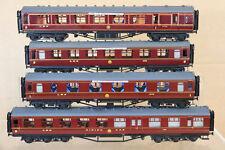 COMET KIT BUILT RAKE of 4 LMS LONDON BIRMINGHAM COACH by GRAHAM VARLEY GODDARD