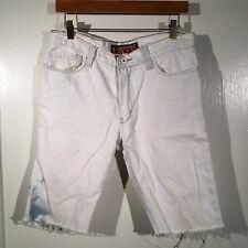 LEVI'S 510 Super Skinny Acid Wash Cutoff Shorts Size Waist 32