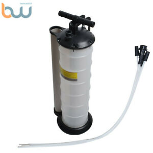 7L Manual Oil Fluid Extractor Vacuum Fuel Petrol Pump Transfer Remover Tank