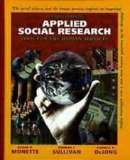 Applied Social Research: Tool for the Human Services