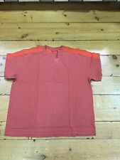 Pierre Cardin Contrast Crew Neck T-shirt/red/ Size 4XL