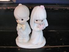 "Precious Moments ""The Lord Bless You and Keep You"" 1979 Cake Topper"