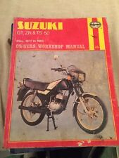 HAYNES MANUAL 799 SUZUKI GT , ZR & TS 50 , 49 CC 1977 to 1985 , FREE UK POSTAGE
