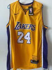 Laker #24 Kobe Bryant Basketballtrikot Los Angeles Swingman Gelb Jersey .