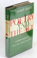 Signed Randall Jarrell 1953 Poetry and the Age Hardcover w/DJ & Clippings