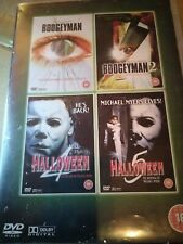 Bogeyman 1 & 2 and Halloween 4 & 5 - DVD - Four-Film DVD Set - Michael Myers