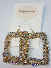 Diamond cluster bespoke? square earrings