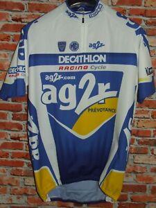 Bike Cycling Jersey Shirt Maillot Cyclism Sport Team AG2R Decathlon Size XXL
