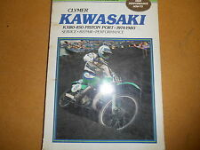 1974-1980 Clymer Kawasaki KX80-450 KX Piston Port Service Manual