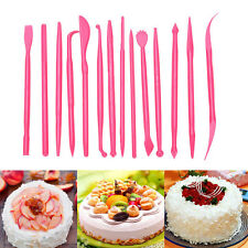 14pcs Cake Cupcake Decorating Equipment Modelling Set Sugercraft Craft Icing Kit