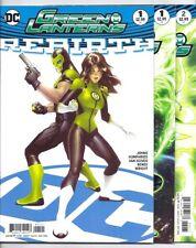 DC GREEN LANTERNS REBIRTH ONE-SHOT AND #1-11 VARIANT COVERS LOT JESSICA CRUZ!