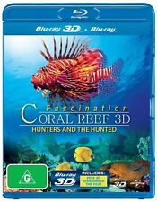 Fascination Coral Reef 3D: Hunters and The Hunted * Blu-ray Disc * NEW Sealed