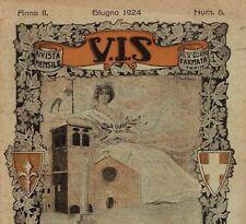 1924 TRIESTE RIVISTA MENSILE DEL V° CORPO D ARMATA V.I.S.ALPINI GUERRA WW1 N ff47c2cb0d34