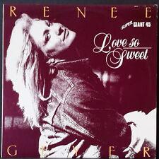 """RENEE GEYER - LOVE SO SWEET 12"""" SG MUSHROOM X 12007 OZ FUNK 1982"""