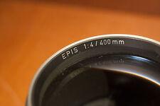 Ernst Leitz Wetzlar Epis 400mm F4.0 For wet plate collodion photography