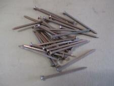 "Copper boat nails, 2½"", square shanks"