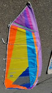 Neil Pryde Raf Speed Windsurfing Sail 4.9 Warp Oriented with bag, Fred Haywood