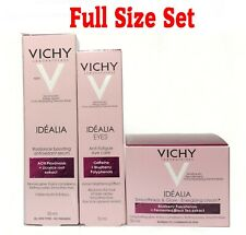Vichy Idealia Eye Serum + Radiance Face Serum + Normal Combination Day Cream Set