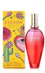 Women ESCADA Flor Del Sol LIMITED EDITION EDT 3.4 / 3.3 OZ 100ML SPRAY (NOT 1.6)