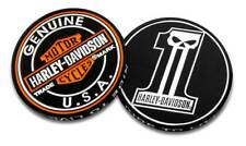 Harley-Davidson Long Tooth #1 Skull Challenge Coin, 1.75 in Coin, Black 8005023