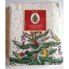 Spode Christmas Tree Shower Curtain 72x72 NEW OPEN PACKAGE