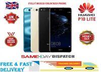 Huawei P10 Lite WAS-LX1A-32GB 4GB RAM Android 12MP 4G Black Unlocked Smartphone