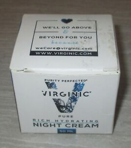 VIRGINIC Pure Rich Hydrating NIGHT CREAM for Face Skin 50 mL *BRAND NEW IN BOX*