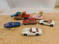 Lot of 6 Corgi Diecast Cars Marvo Miss Piggy Politoys Volvo Ford Pininfarina