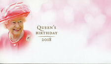 Australia 2018 FDC Queen Elizabeth II 92nd Birthday Blank Cover Royalty Stamps