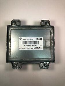 2009 - 2011 Chevrolet Aveo Cruze Electronic Control Module ECU ECM 12633378 OEM